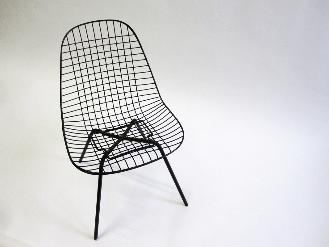 Eames wire chair dimensions -
